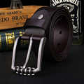 New Retro Buckle Cowhide Leather Belt First Layer Genuine Leather Men Leather Belt For Jeans