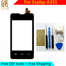Free DIY Tools +100% New Touch Screen For Explay A351 Glass Capacitive sensor For Explay A351 Touch Screen panel