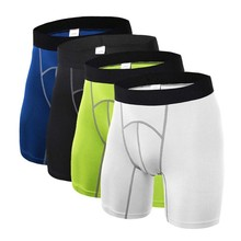 Men Fitness Running Shorts Sports Sweaty Flexible Apparel Tights Compression Base Under Layer GMT601