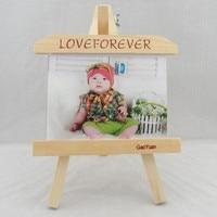 Pollici telaio in legno cavalletto creativo foto personalizzata cornice prodotto slate cornici altalene decorazione della casa Regalo dei bambini