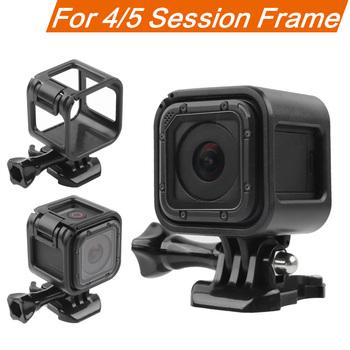 Standardowa Protector rama ochronna obudowa do kamery Gopro Hero 4 plus Hero 5 sesja Go Pro akcesoria do kamer akcji tanie i dobre opinie ruigpro GP336-A Pakiet 1 Przypadku