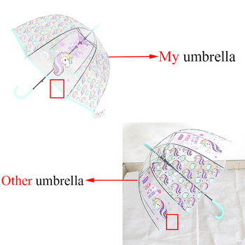 Unicorn Rainbow & Stars Umbrellas