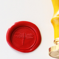 Personalized Wax Seal Stamp Sealing Wax Seal Dragonfly Wax Stamp
