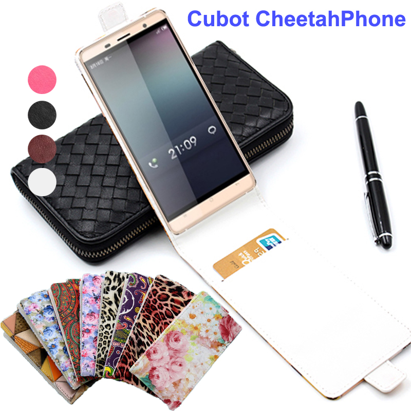 Classic Luxury Advanced Top Leather Flip Colorful Leather Case For Cubot CheetahPhone Cover Card Slot For Cubot Cheetah 4G LET