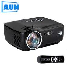AUN Proyector Android, con Wifi y Bluetooth incorporado, Producto Caliente 1200 Lúmenes LED Projector, Full HD. Cable HDMI gratuito