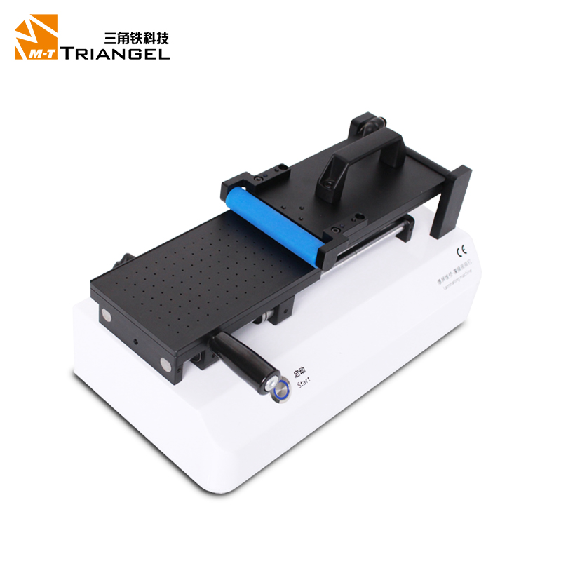 Free shipping Semi Automatic OCA Polarizer Film Laminating Machine For iPad Samsung iPhone LCD Glass screen Repair refurbished