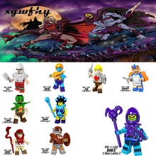 Lgoing Movie He-Man & T.M.O.T.U figures He-Man and the Masters of the Universe Model Building Blocks Toys for Children JM223 the art of he man and the masters of the universe