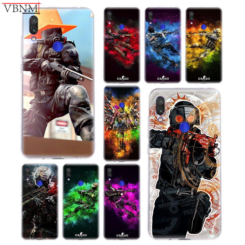 Cellphones & Telecommunications Half-wrapped Case Rational Cs Go Gun Game Popular Soft Silicon Tpu Case For Xiaomi Redmi Note 4 5 6 7 7pro For Redme S2 Go Art Gift Customized Coque Cover