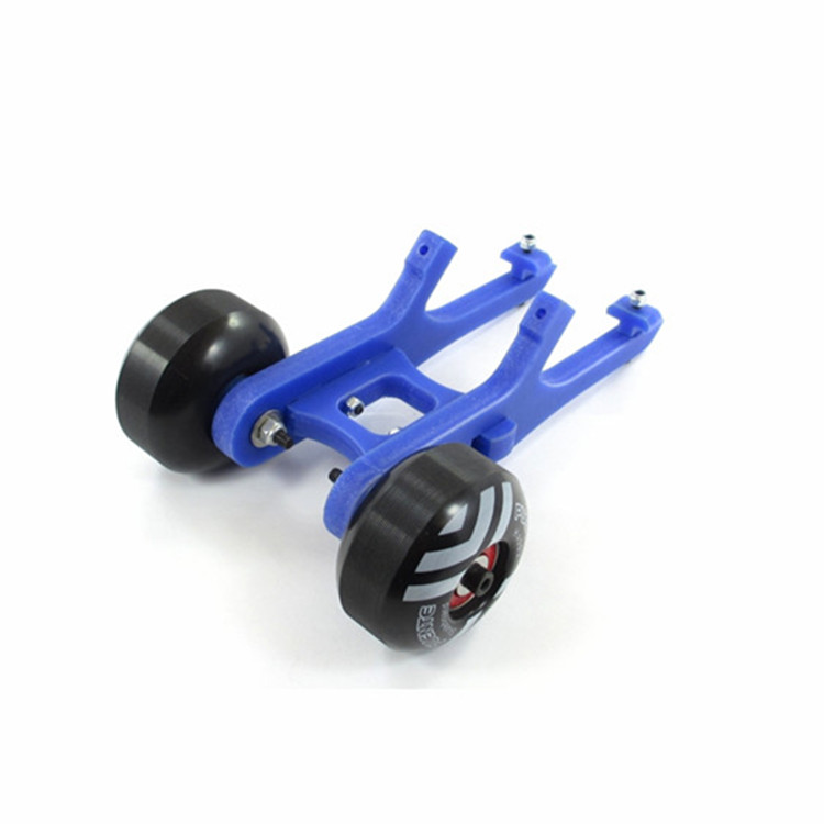 Nylon Double Wheel Wheelie Bar Rise Head Straight Up for 1/8 HPI SAVAGE FLUX 4.6 5.9 RC Car Parts