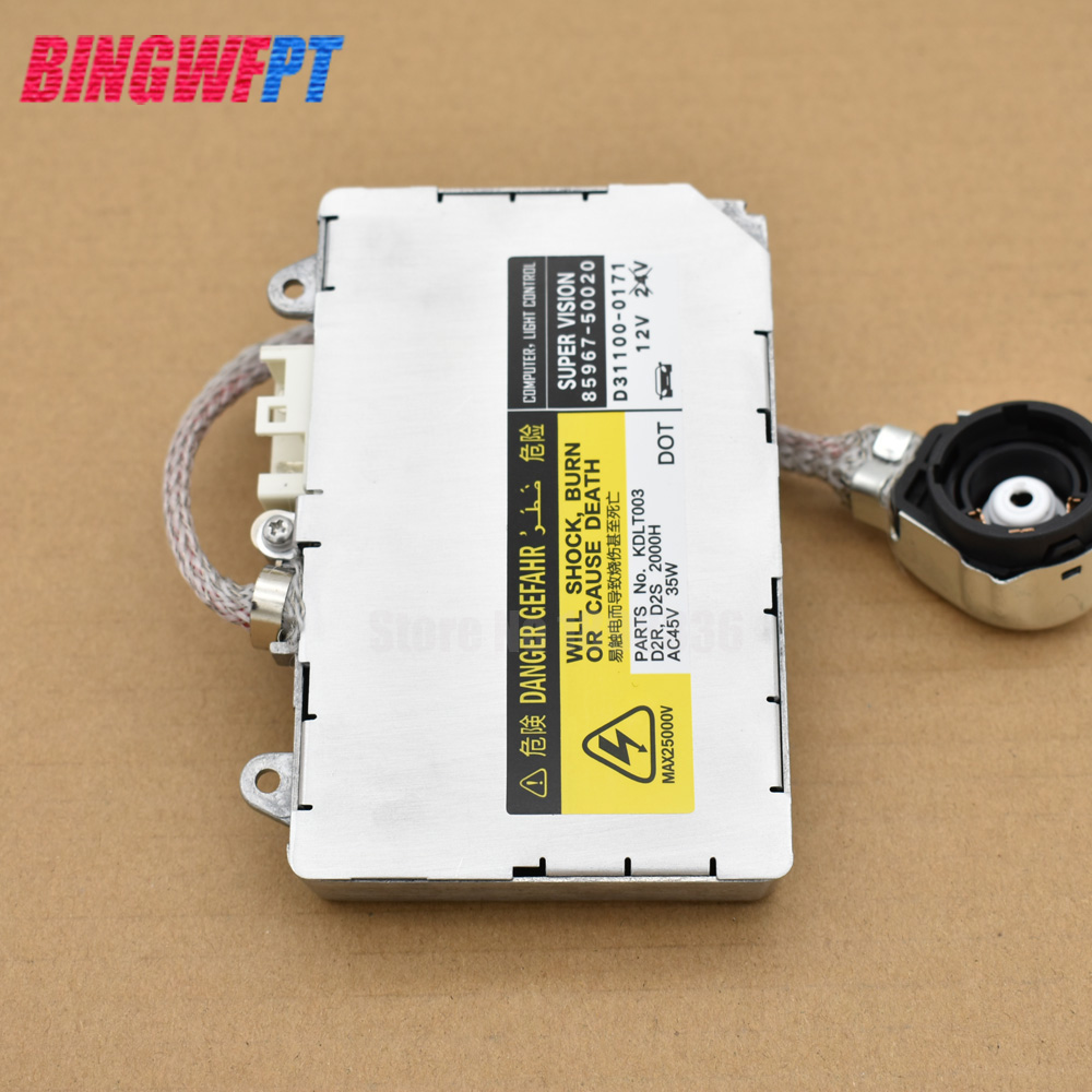 US $25 5 15% OFF|D2S D2R Xenon HID Headlight Ballast Control Unit Module  ECU For Land Rover Discovery 3 (LR3)-in Car Light Accessories from