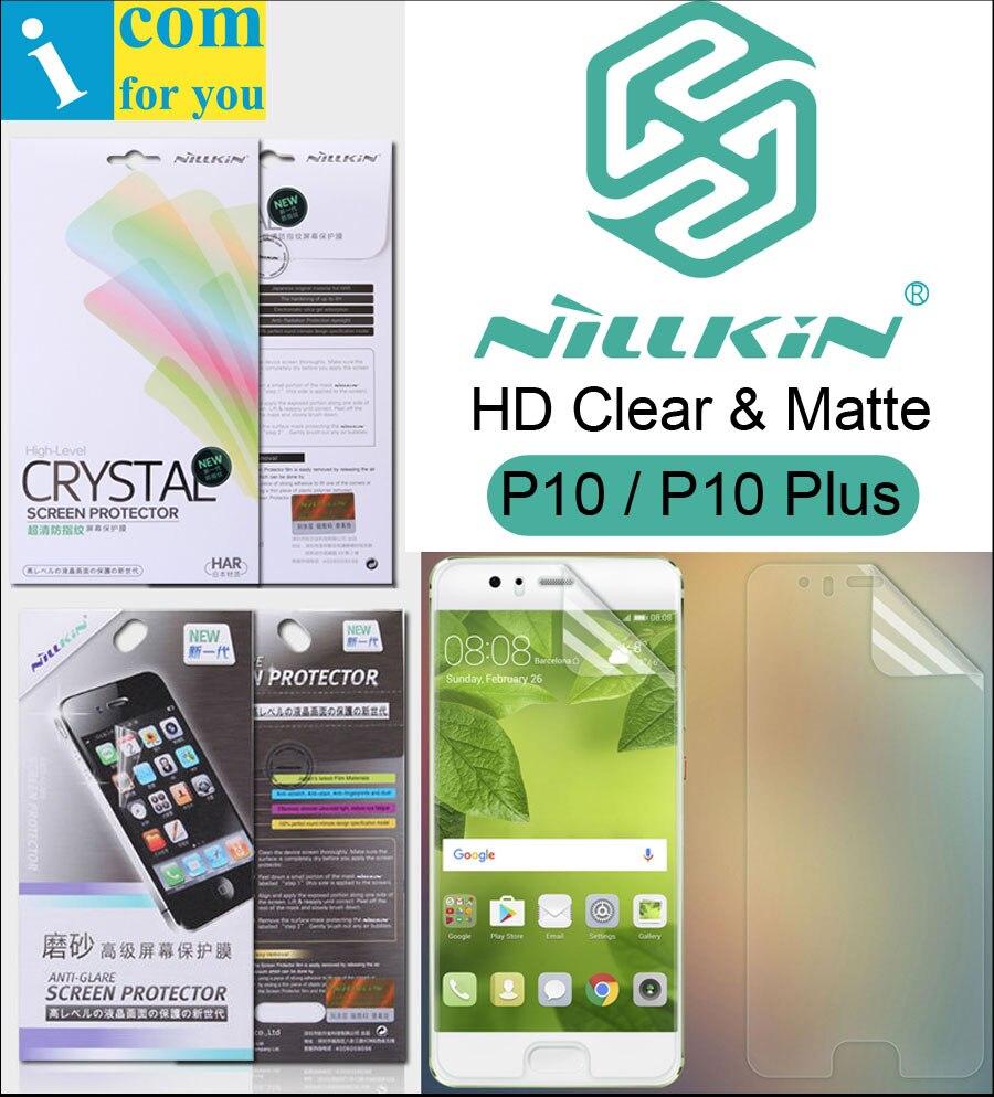 Nillkin Mat Écran Clair De Protection Film Pour Huawei P20 Pro P10 Plus Transparent Anti-Éblouissement