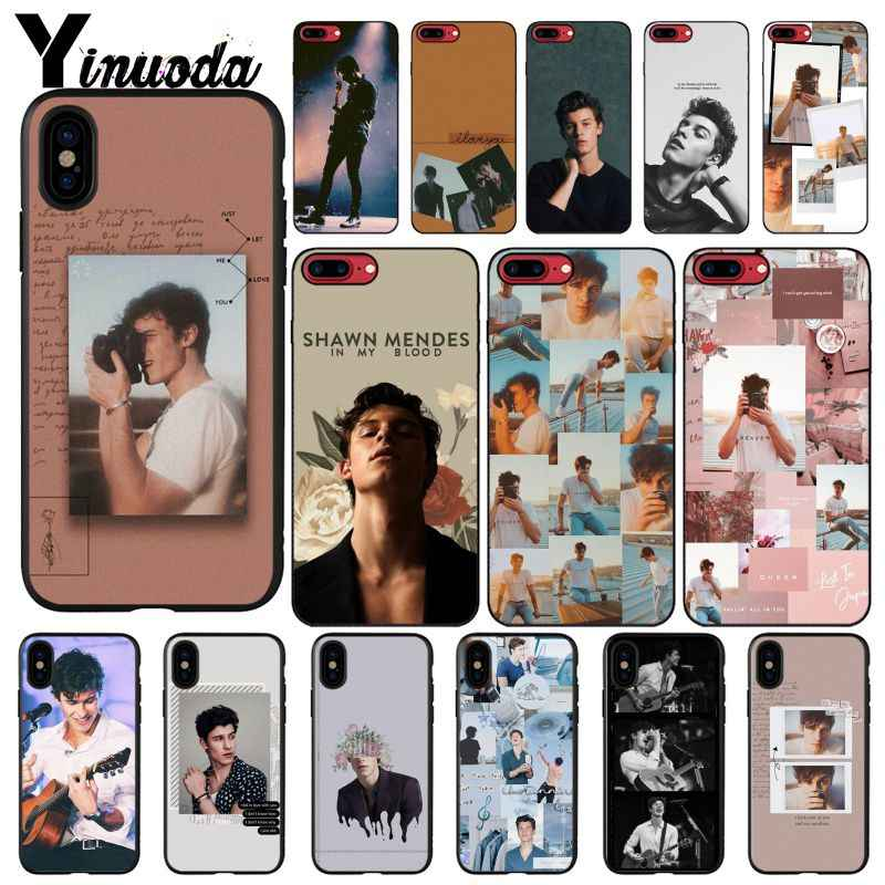 Yinuoda Pop singer Shawn Mendes Magcon 98 DIY Painted Phone Case for iPhone 6S 6plus 7 7plus 8 8Plus X Xs MAX 5 5S XR