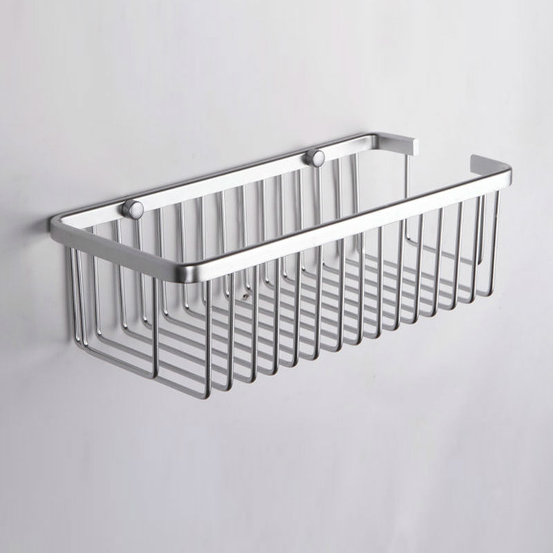 Kes A4023 Rectangular Tub And Shower Basket Wall Mount Aluminum In Bathroom Shelves From Home Improvement On Aliexpress Alibaba Group
