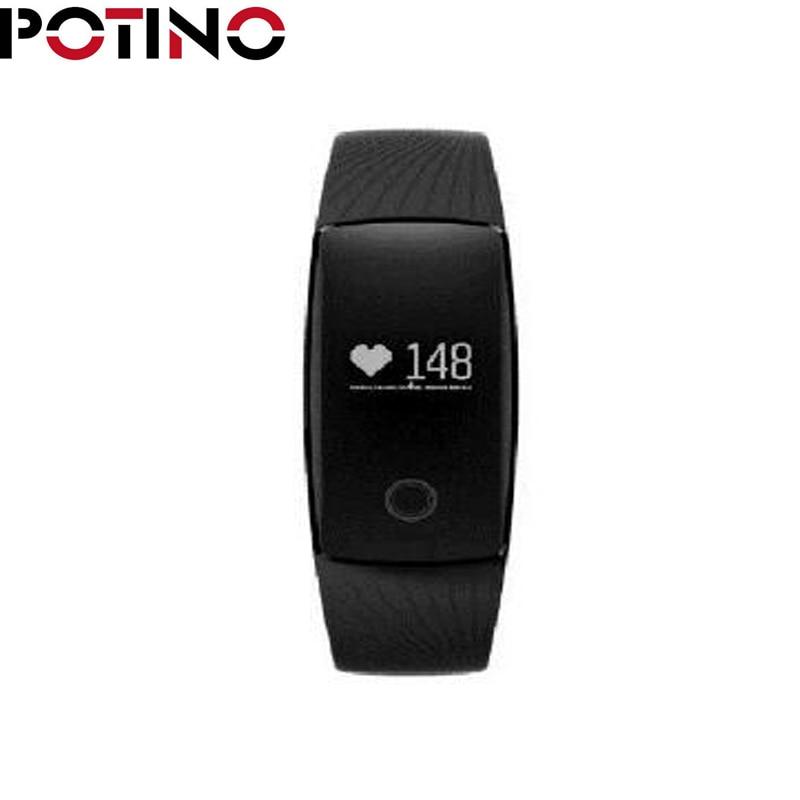 POTINO V05C Heart Rate Monitor Smartband Pedometer Bracelet Heart Rate Monitor pulsometer Fitness Tracker For IOS