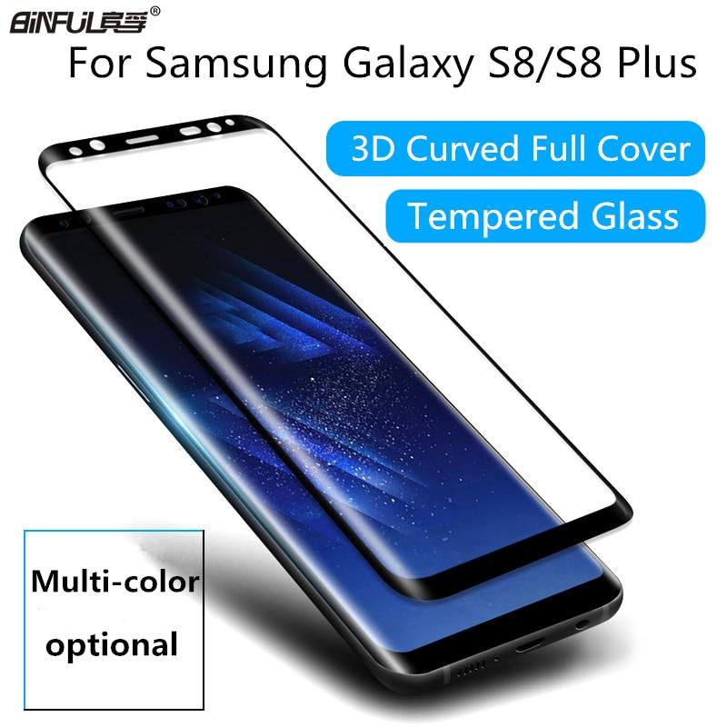 Untuk Samsung Galaxy S8 S8 Ditambah 0.26mm 9 H 3D Melengkung Kaca - Aksesori dan suku cadang ponsel - Foto 1