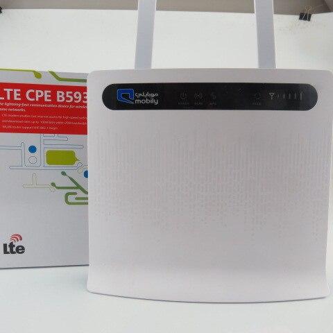 (+2pcs B593 antenna)Huawei B593u-91 LTE TDD2300/2600Mhz(B38/B40) DC-HSPA+ 3G 900/2100Mhz Mobile Wireless CPE Router 2pcs b593 antenna huawei b593u 91 lte tdd2300 2600mhz b38 b40 dc hspa 3g 900 2100mhz mobile wireless cpe router