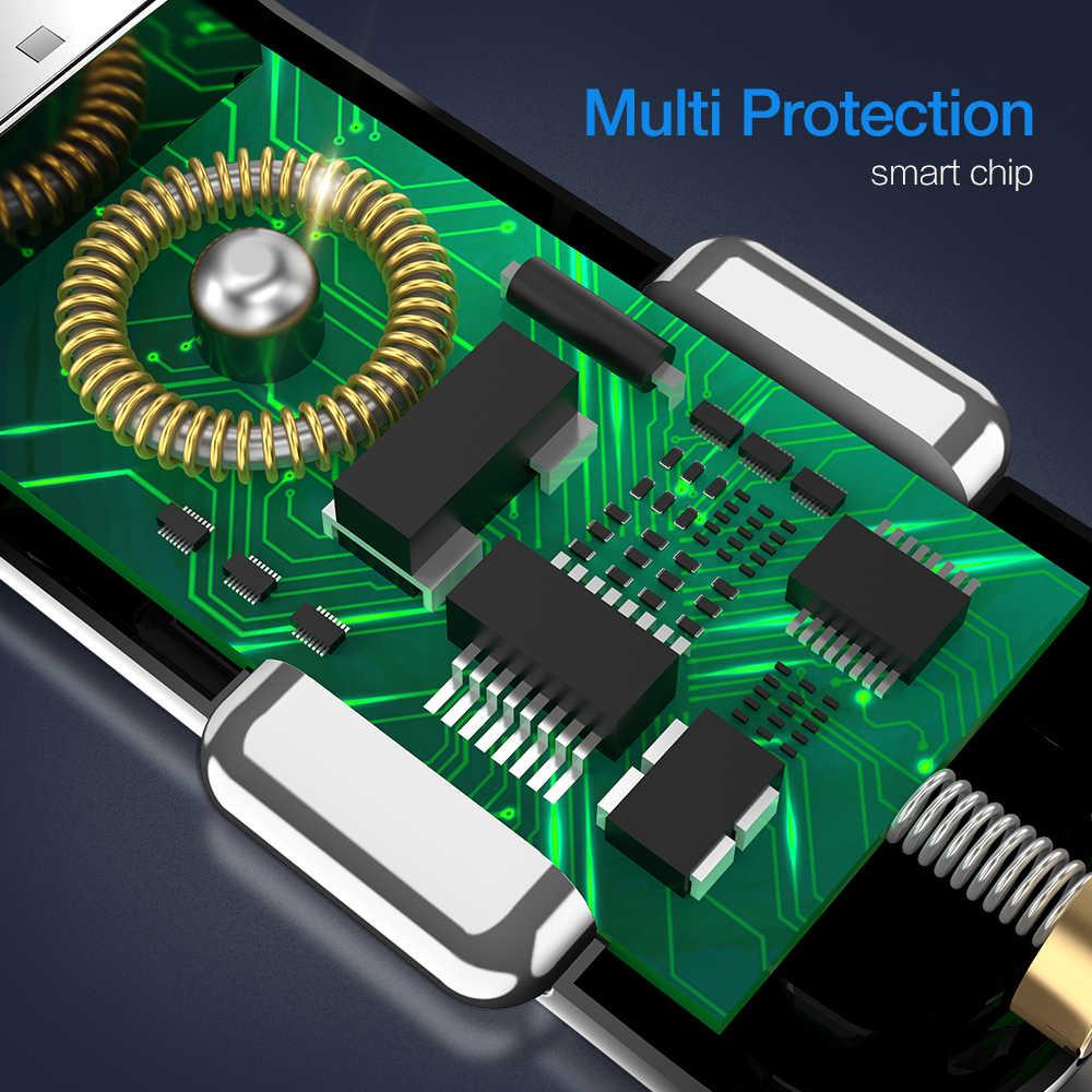 2 USB شاحن سيارة الناتج 3.1A ماكس شحن سريع مهايئ شاحن الطاقة لسامسونج شاومي هواوي الهواتف المحمولة شاحن سيارة