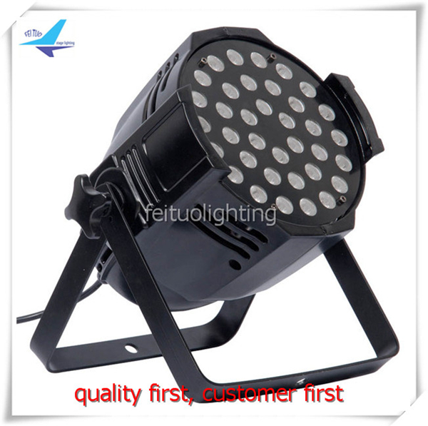8lot LED par light 36x3W Aluminum die-casting PAR 64 cheap led flat par eurolite led par 64 rgb 36x3w short silver