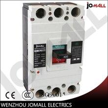 цены 400 Amp 3 pole cm1 type Moulded case type circuit breaker mccb