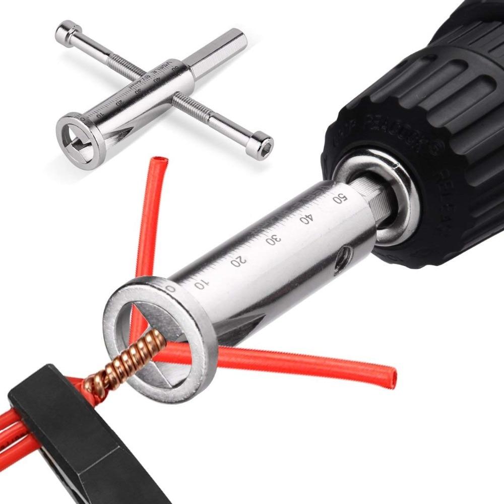 Werkzeuge Vereinigt Hand Werkzeug Elektronische Twist Draht Dekrustation Zangen Mit Bohrmaschine Elektrische Draht Zubehör Verdrehen Werkzeuge Draht Stripper