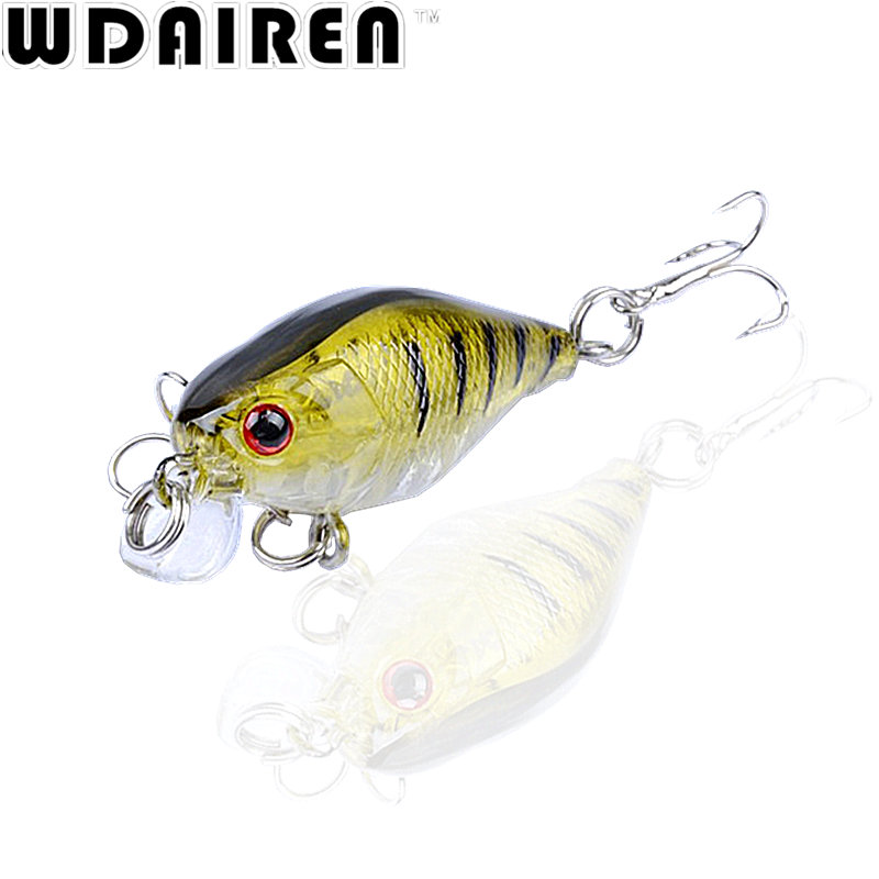 1Pcs 4.3cm 4.3g topwater Crank bait Swim Fishing Lure Wobbler Japan Artificial Hard diving 0.2m Colorful Mini Fishing Crankbait wldslure 1pc 54g minnow sea fishing crankbait bass hard bait tuna lures wobbler trolling lure treble hook