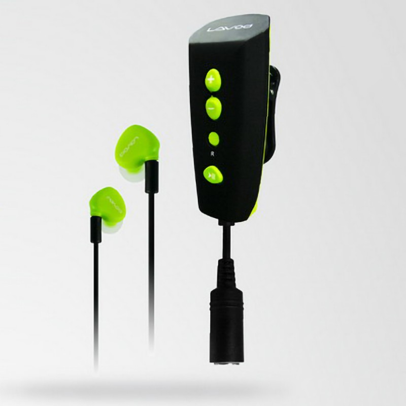 Mp3-Player Back-Clip/headset Swimming Rechargeable Waterproof 8GB with 360-Degree Rotation