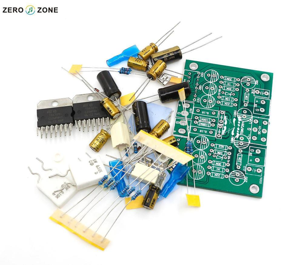 Tda7294 Mono Audio Amp Amplifier Board 8 Ohms 70w Dc 40 45v Diy In Bridge Power Circuit Diagram Electronic Project Zerozone Stereo Pure Kit