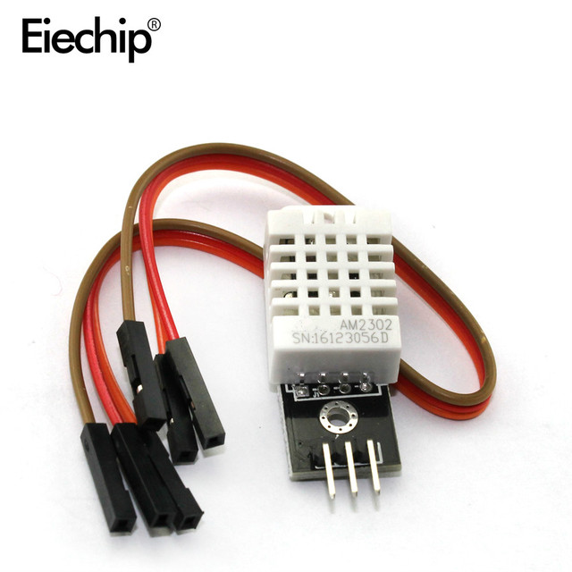 1pcs DHT22 Digital Temperature and Humidity Sensor AM2302 Module+PCB with Cable dupont For arduino diy electronic kit