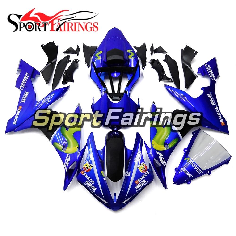цена на Injection Fairings For Yamaha YZF R1 04 05 06 2004 - 2006 ABS Motorcycle Full Fairing Kit Bodywork Cowling Blue Body Kit Panels