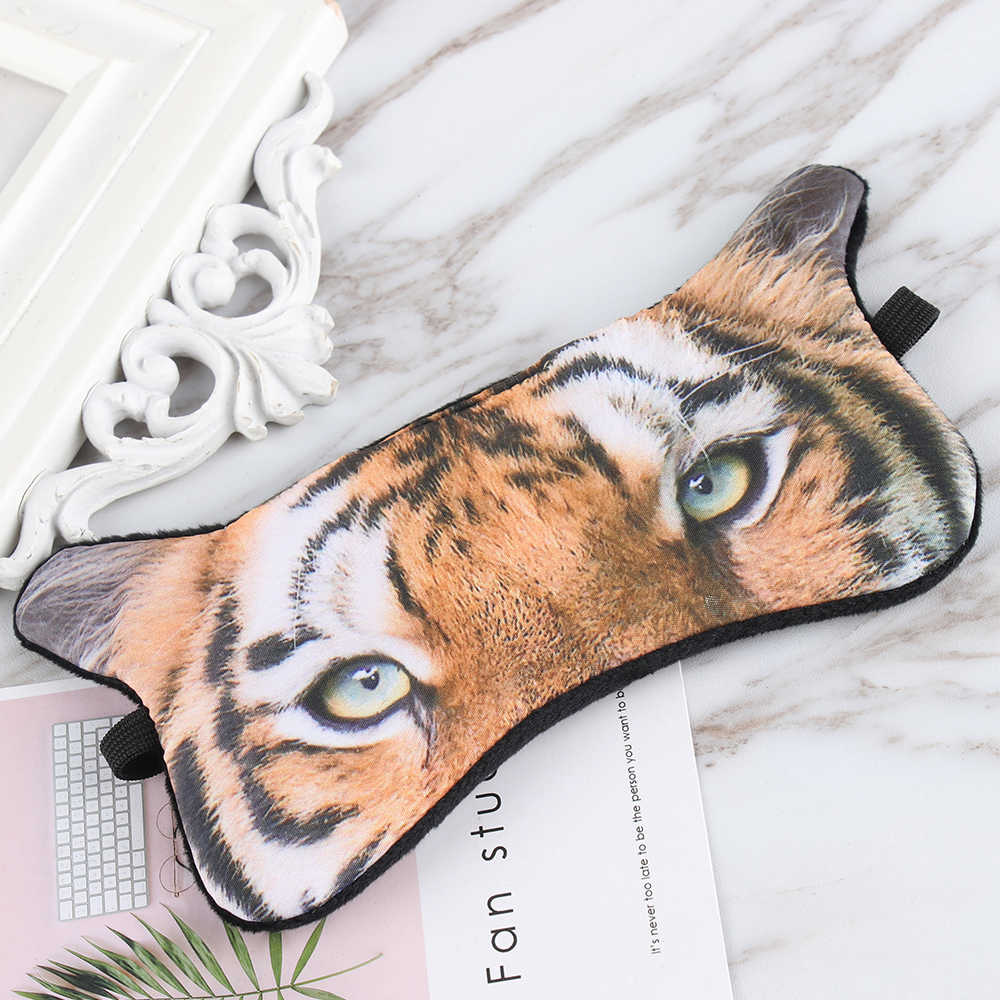 ขายร้อน 3D การ์ตูนการพิมพ์ Eye Patches สัตว์น่ารัก Sleeping หน้ากาก SleepEye Mask หน้ากาก Shade Blindfold ดวงตาผ่อนคลาย