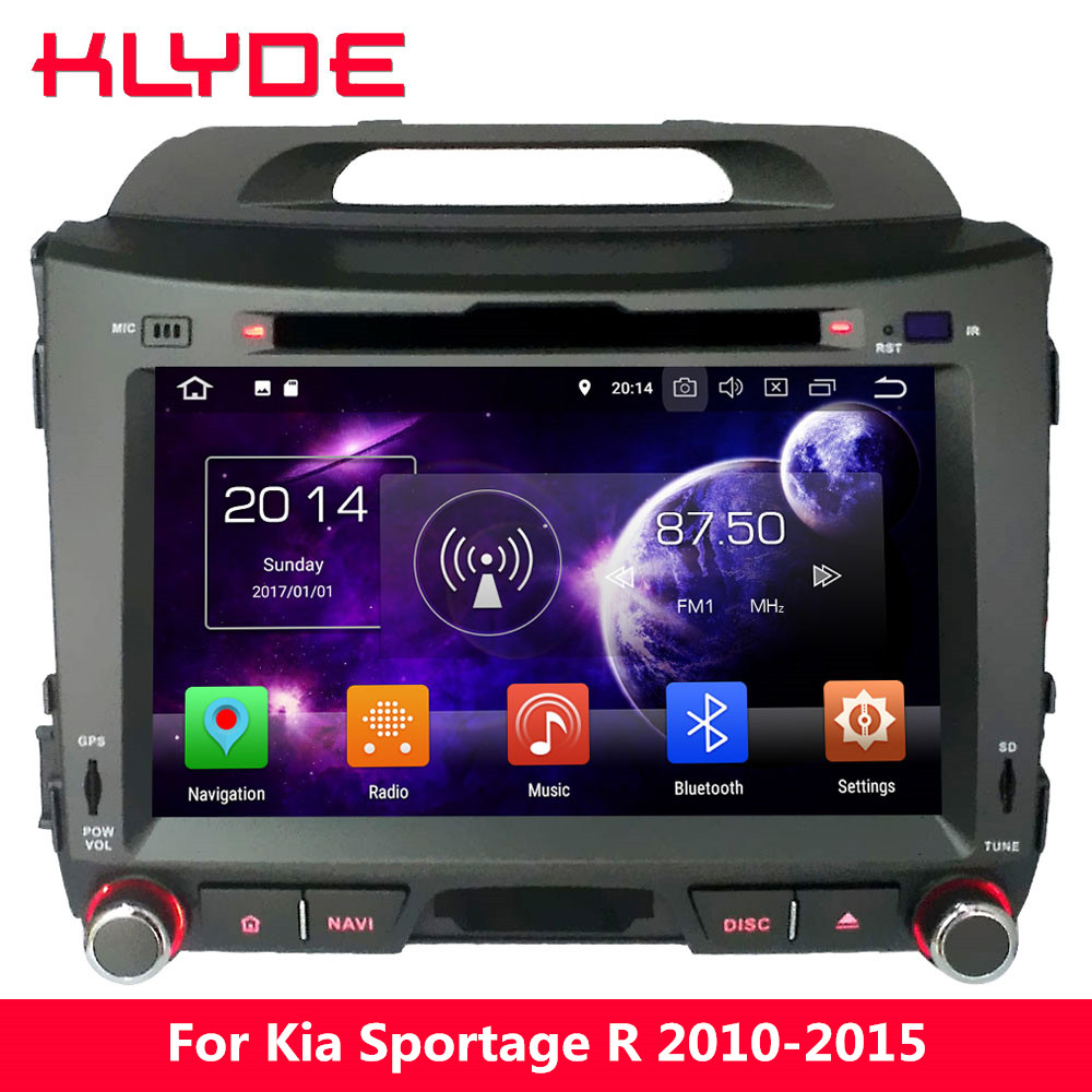KLYDE 4G Octa Core PX5 Android 8.0 7.1 4GB RAM 32GB ROM Car DVD Player Radio For Kia Sportage R 2010 2011 2012 2013 2014 2015 android 8 0 octa core px5 px3 fit hyundai i40 2011 2012 2013 2014 2015 car dvd player navigation gps radio