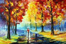 palette knife oil painting  modern oil painting canvas oil painting K192