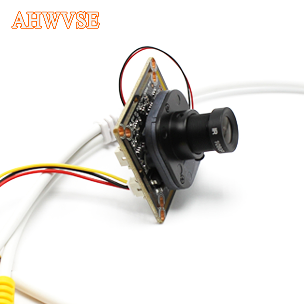 AHWVSE Wide Angle 2 8mm lens AHD Camera Module For Indoor Outdoor Security Camera Ultra Low