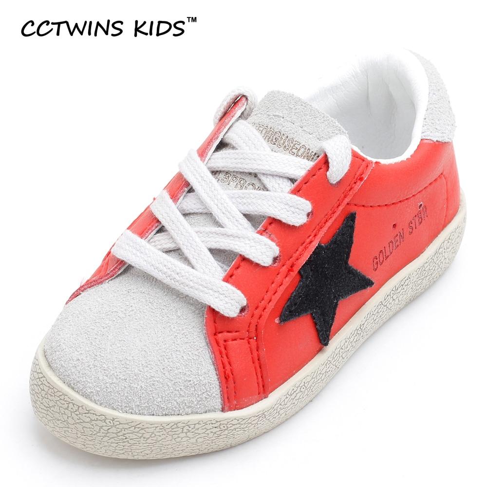 CCTWINS KIDS 2017 Lace Up Genuine Leather Boy Fashion Sneaker Toddler Casual Shoe Baby Girl Sport Child Black Kid Trainer F1266 teva jansen leather kids sport shoe toddler little kid big kid