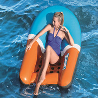 165cm Adult Inflatable Bed Swimming Pool Floating Backrest Swimming Equipment Beach Surfing Floating