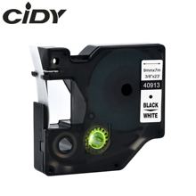 Cidy Multicolor 40913 40918 40910 9mm black on white label tape Compatible Dymo D1 manager 45013 FOR DYMO LM160 LM280 PNP