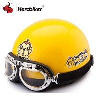 2016 New Vintage Motorcycle Motorbike Vespa Open Face Half Motor Scooter Helmets Visor Goggles