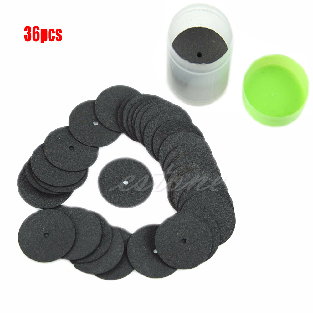 36pcs Resin Cutting Wheel Disc Blade Cut Off Set Kit For Dremel Rotary Hobby Tool High Quality 2019New