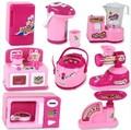 Los niños juegan juguetes casa del juego de simulación de mini electrodomésticos