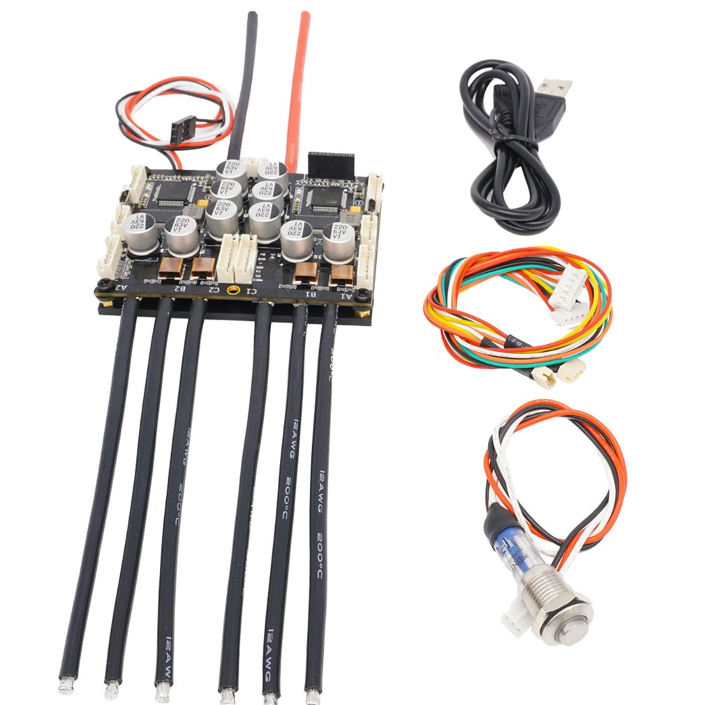 US $207 49 20% OFF|HGLRC Flipsky ESC VESC Hardware V4 20 100A Dual FSESC  Open Source Project fit with VESC Software Electronic Speed Controller-in
