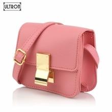 [ULTRON]Quality Women Mini Flap Handbag Lady PU Leather Messenger Bags Parent-Child Simple Fashion Crossbody Shoulder Bag стоимость