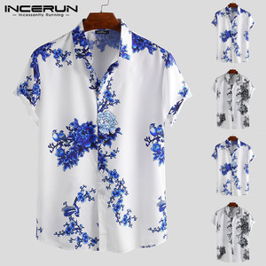 INCERUN Chinese Style Men Shir