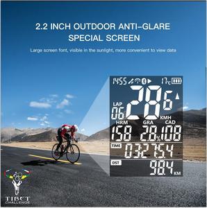 Image 3 - IGPSPORT IGS50E Waterproof IPX7 Bike Computer GPS ANT+ Wireless Speedometer Bicycle Digital Stopwatch Cycling Speedometer