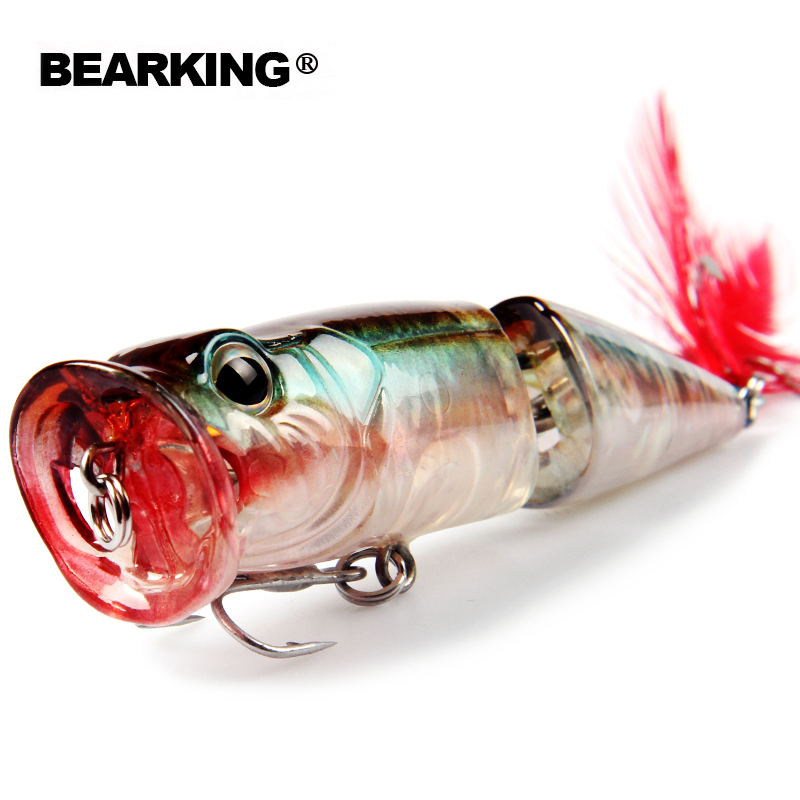 Bearking Retail 2017 good fishing lures minnow,bear king quality professional baits 70mm ...
