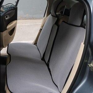 Image 3 - รถด้านหลังระบายอากาศเครือข่ายรถกลับที่นั่งPad/ฤดูร้อนMatที่นั่งLuxury/คุณภาพสูงBreathableที่นั่งฝาครอบ