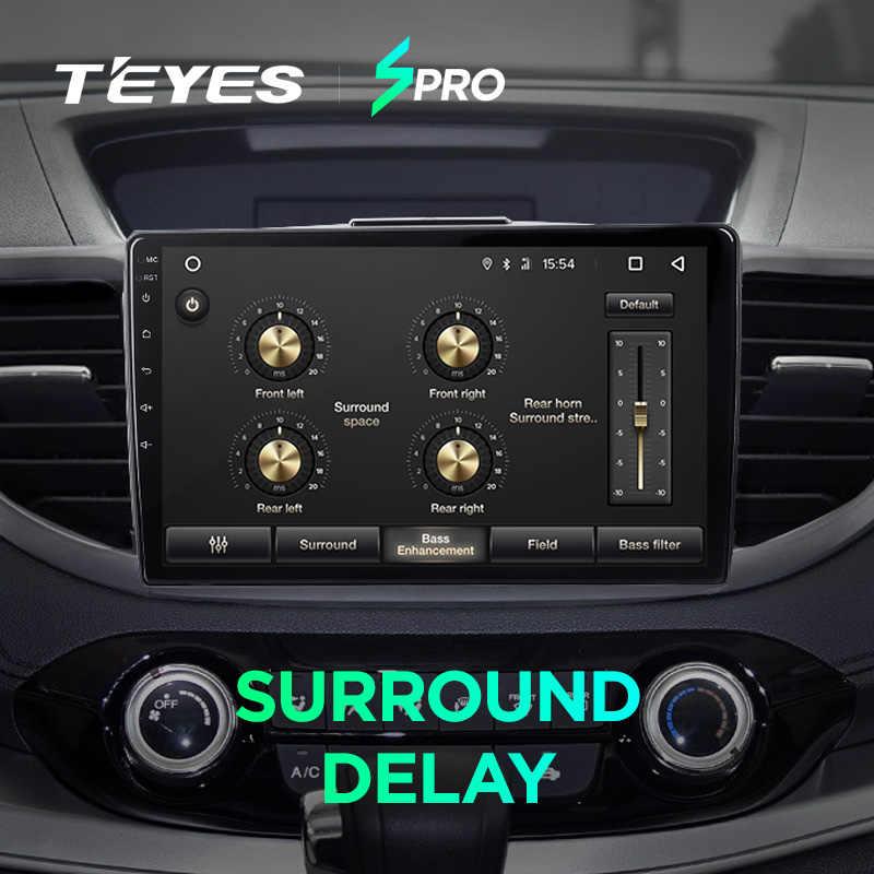 TEYES ホンダ CRV CR-V SPRO 4 RM 再 2011 2012 2013 2014 2015 カーラジオマルチメディアビデオプレーヤーナビゲーション GPS アンドロイド 8.1