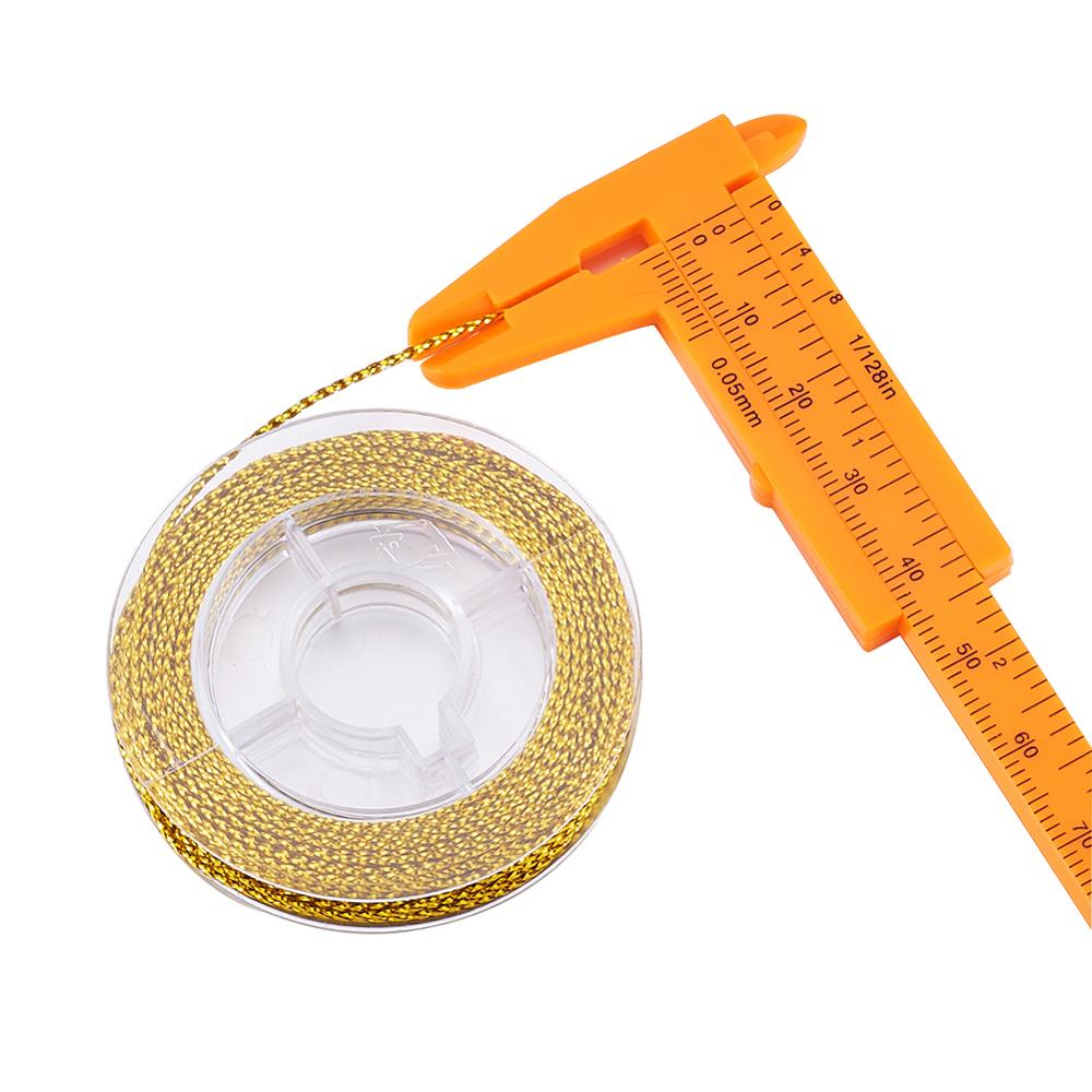 Pandahall 10 м/рулон Плетеный Бисерный шнур проволока неэластичная