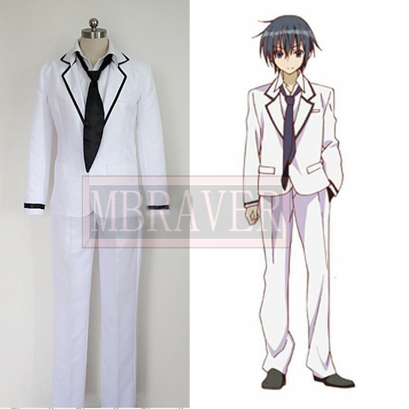 Anime Cosplay Costume Seirei Tsukai no Blade Dance Kamito Kazehaya Custom-made