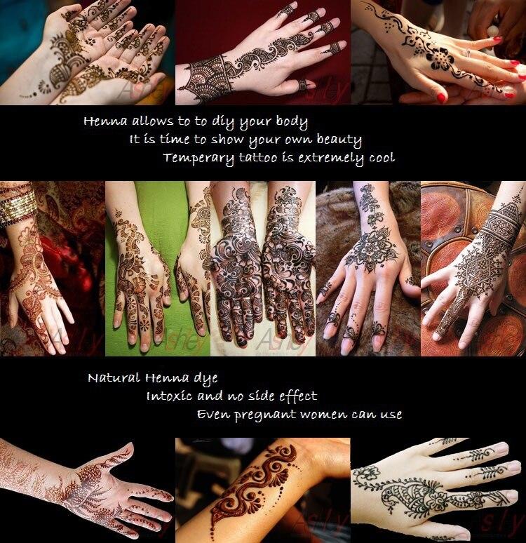 Golecha Temporary Tattoo India Henna Tattoo Paste Red Tatouage
