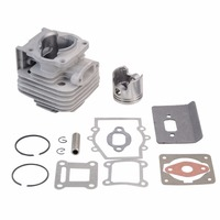 GOOFIT 40mm Bore Complete Cylinder Kit with Piston for 2 Stroke 43cc 47cc Gas Scooter Pocket Bike Mini K074 022
